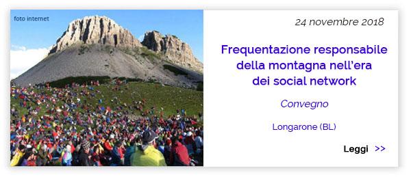 Convegno Frequentazione Montagna Social Network