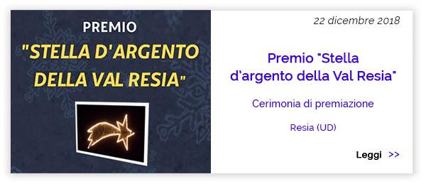 Premio Stella D'Argento Val Resia